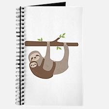Sloths In Tree Journal