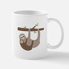 Sloths In Tree Mugs