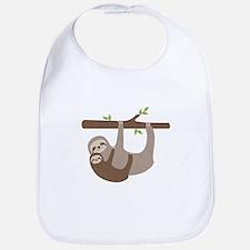 Sloths In Tree Bib