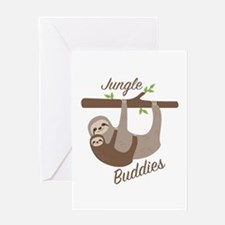 Jungle Buddies Greeting Cards