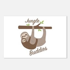Jungle Buddies Postcards (Package of 8)