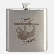 Jungle Buddies Flask