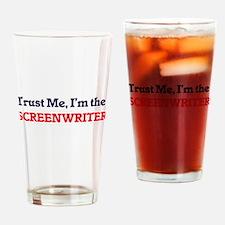 Trust me, I'm the Screenwriter Drinking Glass