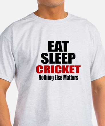 Eat Sleep Cricket T-Shirt
