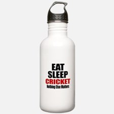 Eat Sleep Cricket Water Bottle