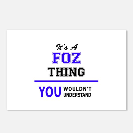 It's FOZ thing, you would Postcards (Package of 8)
