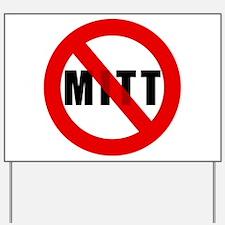 No Mitt Romney Yard Sign
