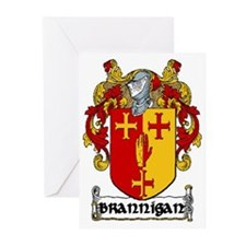 Brannigan Coat of Arms Greeting Cards (Pk of 20)