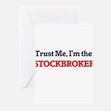 Trust me, I'm the Stockbroker Greeting Cards