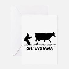 The Ski Indiana Shop Greeting Card