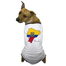 Cool Ecuador Dog T-Shirt