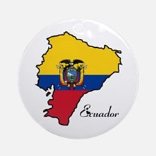 Cool Ecuador Ornament (Round)