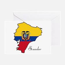 Cool Ecuador Greeting Card