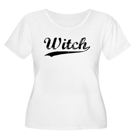 Witch Goddess Size Women's Scoop Neck T-Shirt