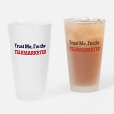 Trust me, I'm the Telemarketer Drinking Glass