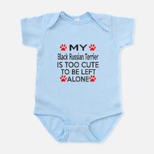 Black Russian Terrier Is Too Cute Infant Bodysuit