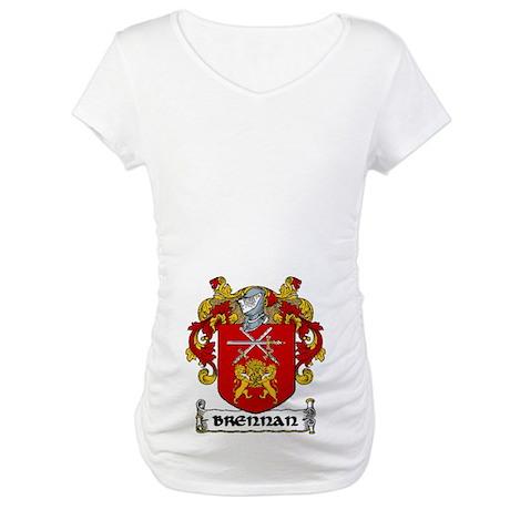 Brennan Coat of Arms Maternity T-Shirt