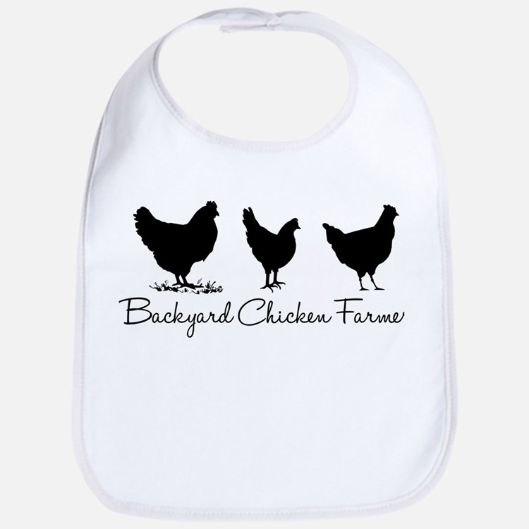 Cute Chicken Bib