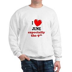 June 9th Sweatshirt