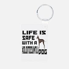 Life Is Safe With A Xoloit Aluminum Photo Keychain