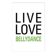 Live Love Bellydance Postcards (Package of 8)