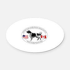 ASALogo2013-500x380 Oval Car Magnet