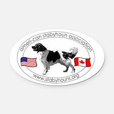 ASA Logo Oval Car Magnet