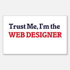Trust me, I'm the Web Designer Decal