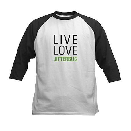 Live Love Jitterbug Kids Baseball Jersey