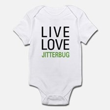 Live Love Jitterbug Infant Bodysuit