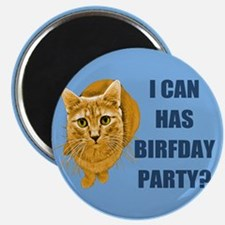 LOLCAT Birthday Party Magnet