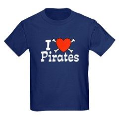 I Love Pirates T