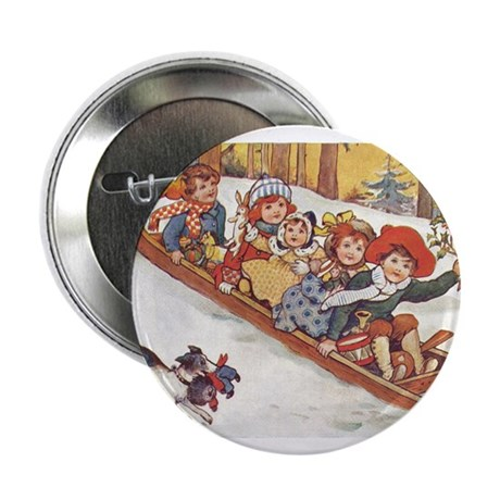"1890's Sledding 2.25"" Button (100 pack)"