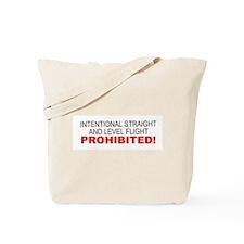 LEVEL FLIGHT PROHIBITED Tote Bag