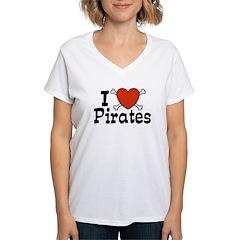 I Love Pirates Shirt
