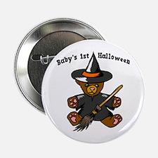"Baby's 1st Halloween 2.25"" Button"
