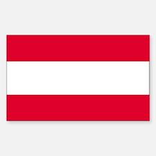 Austria Rectangle Decal
