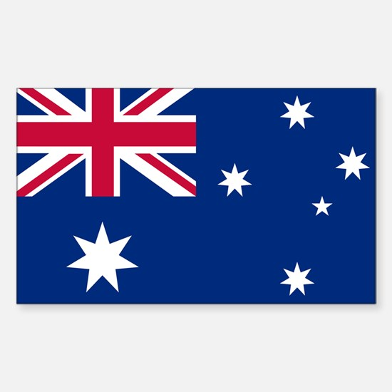 Australia Rectangle Decal