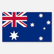 Australia Rectangle Stickers