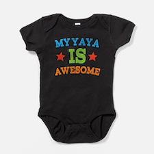 Cute Yaya Baby Bodysuit