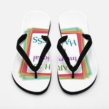 Unique Laugh Flip Flops