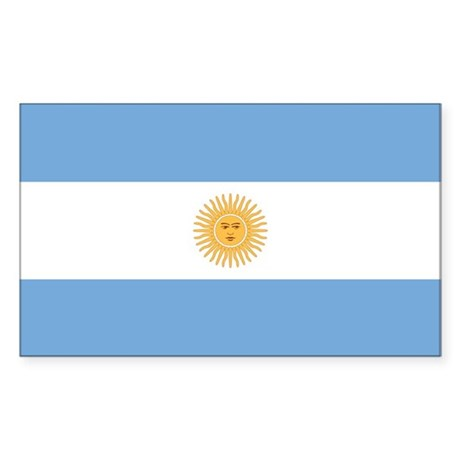Argentina Rectangle Sticker