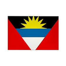 Antigua and Barbuda Rectangle Magnet