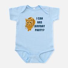 LOLCAT Birthday Party Infant Bodysuit