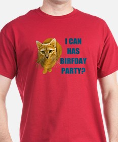 LOLCAT Birthday Party T-Shirt