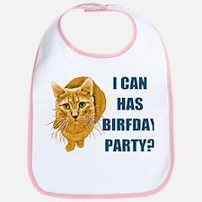LOLCAT Birthday Party Bib