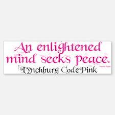 Enlightened Mind's Path Bumper Bumper Bumper Sticker