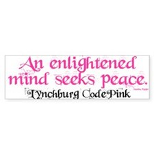 Enlightened Mind's Path Bumper Bumper Sticker