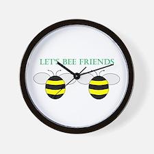 Cute Friends benefits Wall Clock