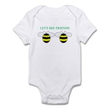 Cute Friends with benefits Infant Bodysuit
